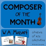 Music Composer Of The Month - W.A. Mozart