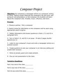 Music Composer Student Project