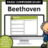 Music Composer Worksheets   Beethoven