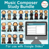 Music Composer Worksheets Bundle