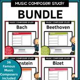 Music Composer Worksheets Bundle
