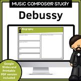 Music Composer Worksheets | Debussy