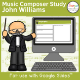 Music Composer Worksheets   John Williams
