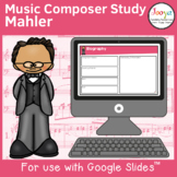 Music Composer Worksheets   Mahler