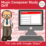 Music Composer Worksheets   Orff