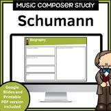 Music Composer Worksheets   Schumann