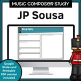 Music Composer Worksheets   Sousa
