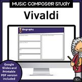 Music Composer Worksheets | Vivaldi