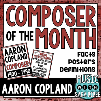Music Composer of the Month: Aaron Copland