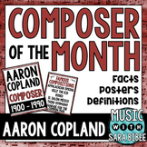 Music Composer of the Month: Aaron Copland Bulletin Board Pack