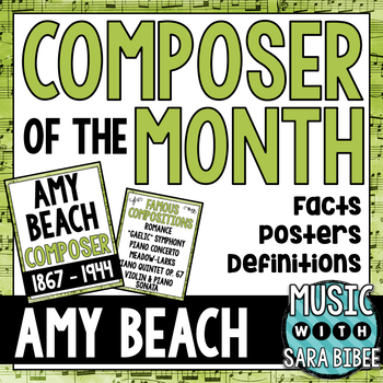 Music Composer of the Month: Amy Beach