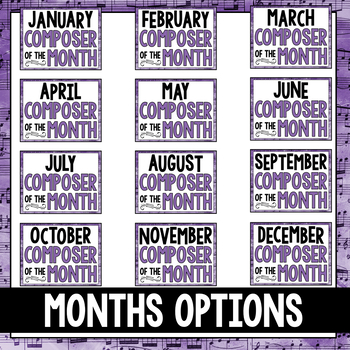 Music Composer of the Month: Ludwig van Beethoven Bulletin Board Pack