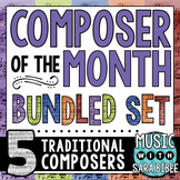 Music Composer of the Month- Bundle #2- Traditional Composers