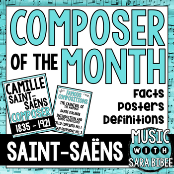 Music Composer of the Month: Camille Saint-Saëns