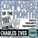 Music Composer of the Month: Charles Ives Bulletin Board Pack