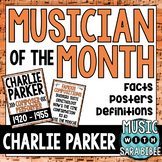 Musician of the Month: Charlie Parker Bulletin Board Pack