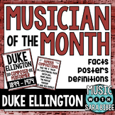 Music Composer of the Month: Duke Ellington Bulletin Board Pack