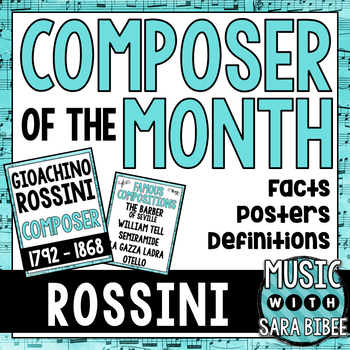 Music Composer of the Month: Gioachino Rossini Bulletin Bo