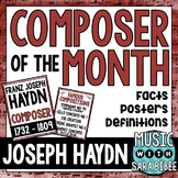Music Composer of the Month: Franz Joseph Haydn- Bulletin Board Pack