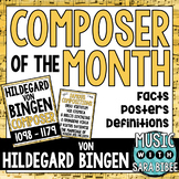 Music Composer of the Month: Hildegard von Bingen Bulletin Board Pack