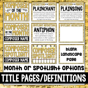 Music Composer of the Month: Hildegard von Bingen Bulletin Board Pack