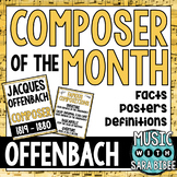 Music Composer of the Month: Jacques Offenbach Bulletin Bo