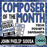 Music Composer of the Month: John Philip Sousa- Bulletin B