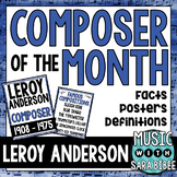Music Composer of the Month: Leroy Anderson Bulletin Board Pack