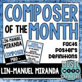 Music Composer of the Month: Lin-Manuel Miranda Bulletin B