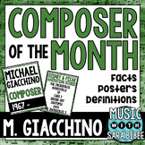 Music Composer of the Month: Michael Giacchino Bulletin Board Pack