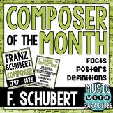 Music Composer of the Month: Franz Schubert Bulletin Board Pack