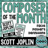 Music Composer of the Month: Scott Joplin Bulletin Board Pack