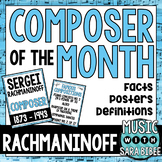 Music Composer of the Month: Sergei Rachmaninoff Bulletin