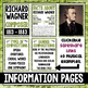 Music Composer of the Month: Richard Wagner Bulletin Board Pack