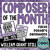 Music Composer of the Month: William Grant Still Bulletin