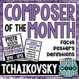 Music Composer of the Month:Tchaikovsky- Bulletin Board Pack