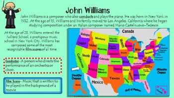 Great Composers (Informational PowerPoints on Famous Composers)