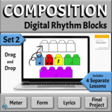 Music Composition Distance Learning Activities for Google Slides, Set 2