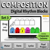 Music Composition Distance Learning Activities for Google Slides, Set 3