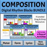 Music Composition Activities for Google Slides | Set 1