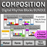 Music Composition Distance Learning Activities BUNDLE - Fo