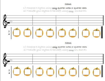 Music Composition Sheets (120+ sheets in collection!)