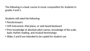Music Composition - Success for All!