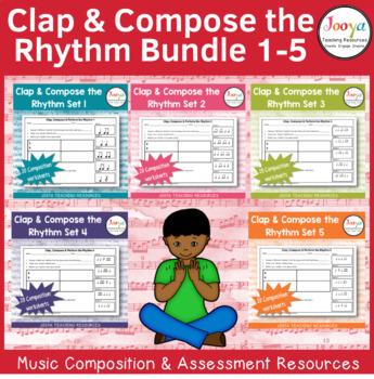 Music Composition Worksheets Big Bundle - Sets 1-20