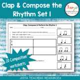 Music Composition Worksheets - Set 1