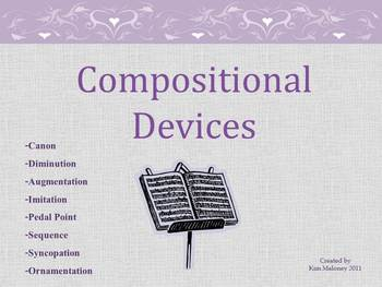 Music Compositional Devices Powerpoint