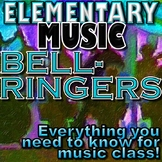 ONE-PAGE MUSIC DRILLS - Pitch, rhythm, dynamics, symbols... elementary music