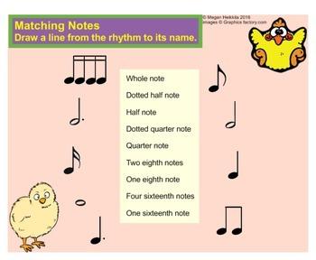 ONE-PAGE MUSIC DRILLS - Pitch, rhythm, dynamics, symbols... elementary music