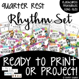Music Concept Bundle: Rhythm Set - Quarter Rests