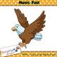 Music Concepts: Fast sounds Clip art